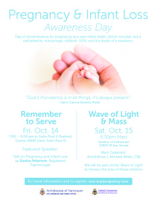 Pregnancy & Infant Loss Day