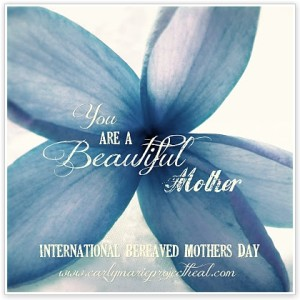 international bereaved mothers day flower blue